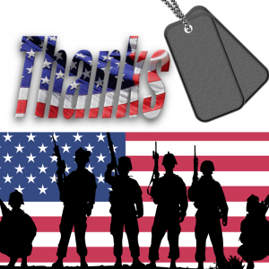 Veterans Day - Thank you Veterans and Military