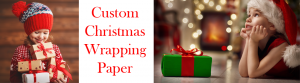 Custom Christmas Wrapping Paper Collection